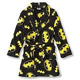 Dc Comics Boys Batman Plush Bathrobe Robe Pajamas Size (M) [Apparel]