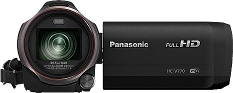 Panasonic HC-V770 Camescopes Classique 1080 pixels Zoom Optique 20 x 12.76 Mpix
