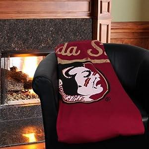 Florida State Sweatshirt Throw Blanket by Northwest