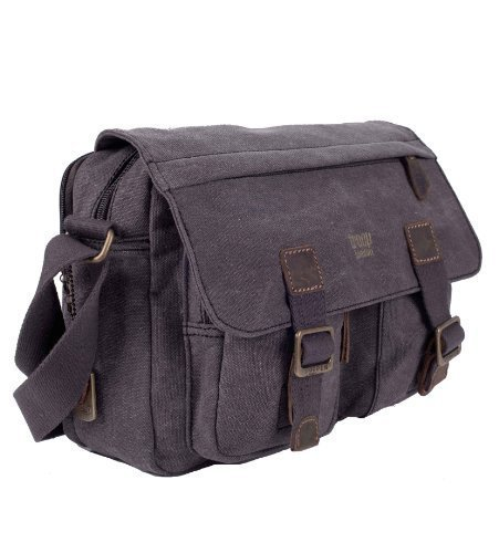 troop-london-heritage-messenger-leinentasche-klein-black
