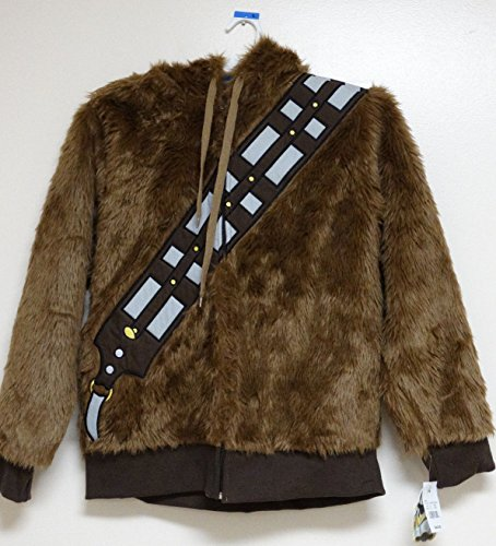 Star Wars Chewbacca Hooded Jacket Costume Large