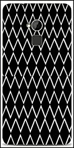 Snoogg Tech Ski Designer Protective Back Case Cover For HTC One-Max