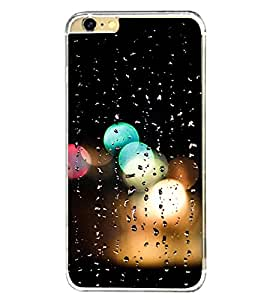 Rain Drenched Window 2D Hard Polycarbonate Designer Back Case Cover for Apple iPhone 6