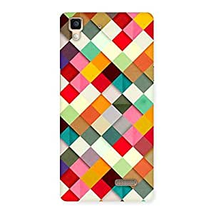 Special Color Ribbons Back Case Cover for Oppo R7