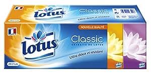 Lotus Classic - Mouchoirs Etuis x 24 Paquets - Lot de 2