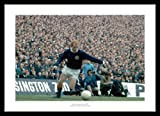 Framed Jimmy Johnstone 1970 Scotland v England Photo Memorabilia