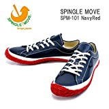(スピングルムーヴ)SPINGLEMOVE spm101-79 スニーカー SPINGLE MOVE SPM-101/ Navy/Red XL28.5cm NavyRed