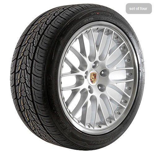 20 Inch Silver 135 Series Wheels Rims and Tires