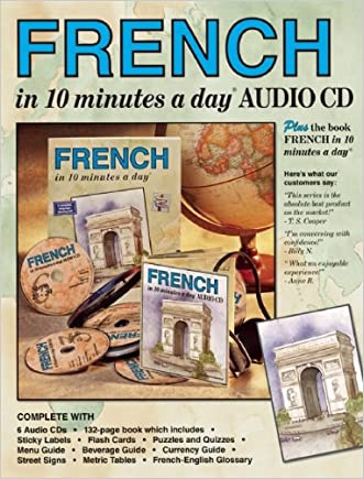 FRENCH in 10 minutes a day® AUDIO CD written by Kristine K. Kershul