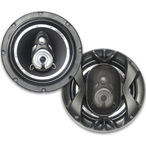 "Performance Teknique Icbm-1062 400W 6-1/2"" 3-Way Coaxial Car Speaker"