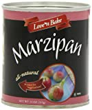 Love N Bake Marzipan, All Natural, 11-Ounce Can (Pack of 3)