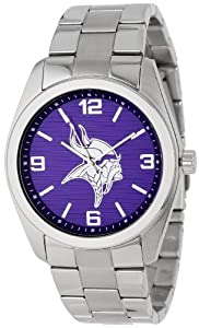 Game Time Unisex NFL-ELI-MIN Elite Minnesota Vikings 3-Hand Analog Watch by Game Time