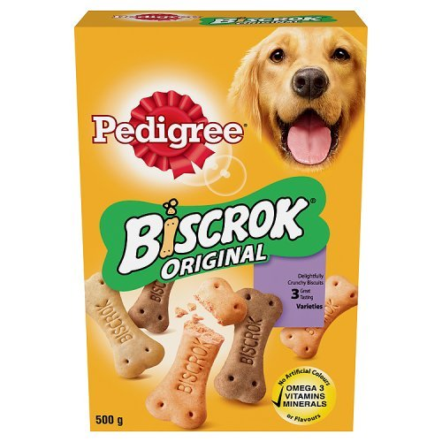 Pedigree Biscrok Biscuits (500G)