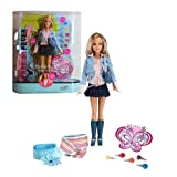 "Mattel Year 2005 Barbie Fashion Fever ""Styles For 2 - Barbie And You"" Series 12 Inch Doll - BARBIE I"