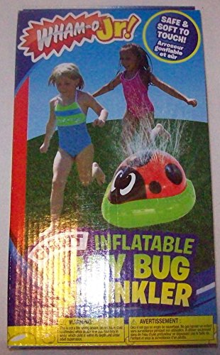 Wham-o Jr! Giant Inflatable Lady Bug Sprinkler Outdoor Water Toy - 1