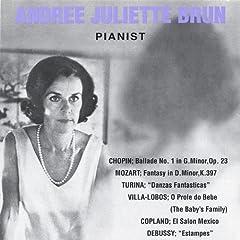 Chopin, Mozart, Debussy: a Piano Recital