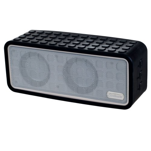 Sunbeam Rechargeable Bluetooth Conference Speaker With Microphone - Retail Packaging - Black