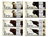 Epic Bar Super Sampler -- Pack of 8 -- (2 Bison Bacon Cranberry, 2 Beef Habanero Cherry, 2 Lamb Currant Mint, 2 Turkey Almond Cranberry)