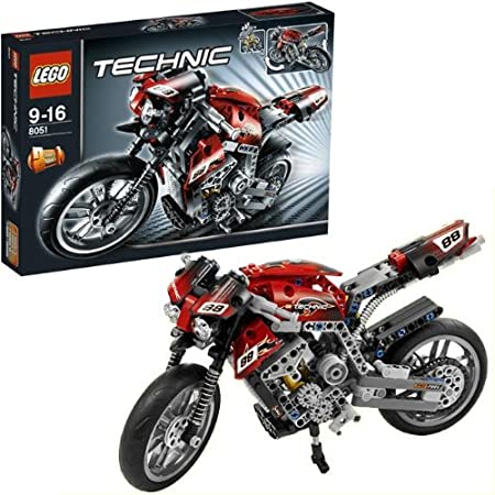 LEGO - 8051 - Jeu de construction - LEGO® Technic - La moto