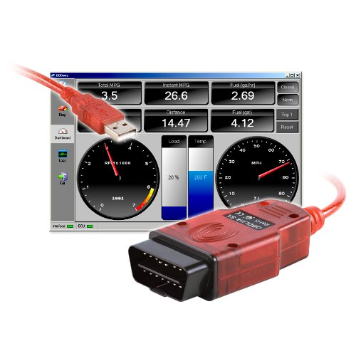 OBDLink SX 2.0 OBD-II Scan Tool by ScanTool Red