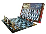 Star Wars Chess Set Chess Game Board with Star Wars Figurines Chess Pieces (Game Board Size 17 x 17 )