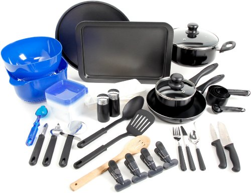 Gibson Home 91923.59 Total Kitchen 59-Piece Combo Set (Kitchen Starter compare prices)