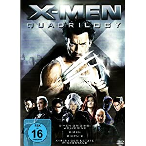 X-Men Quadrilogy (4 DVDs)