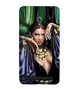 EPICCASE Loevly lady Mobile Back Case Cover For Asus Zenfone 5 (Designer Case)