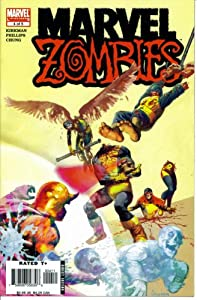 Marvel Zombies #4 (Arthur Suydam's Uncanny X-Men Cover - Marvel Comics) by Robert Kirkman and Sean Phillips