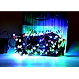 7 Meter Multicolor LED Cerial Diwali Light With Remote(Set Of 5 ) With Ladi Jointer
