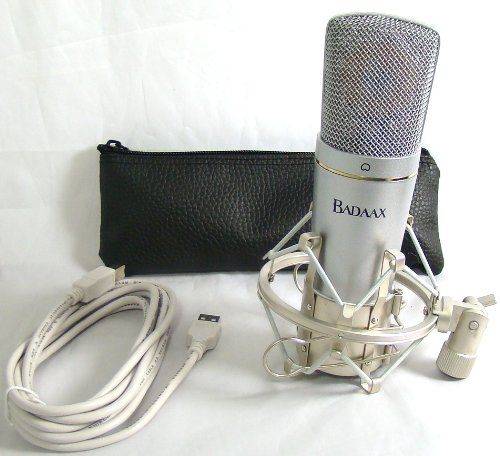 Bad Axx 904-Um-600 Studio Usb Cardioid Condenser Microphone