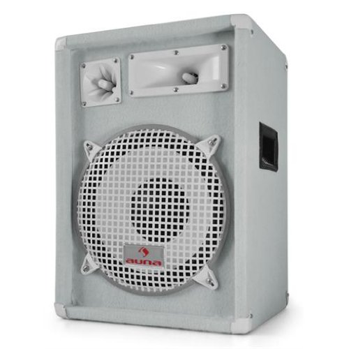 Auna PW-1222 3-Way DJ PA Speaker 12