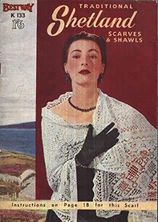 Traditional Shetland Scarves and Shawls - Bestway