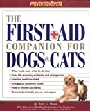 img - for The First Aid Companion for Dogs & Cats (Prevention Pets) book / textbook / text book