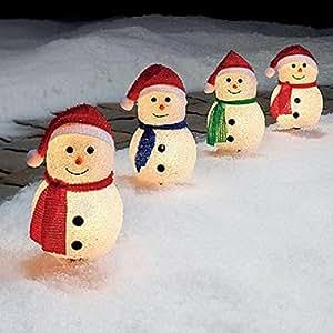 Amazoncom Christmas Lighted Pathway Lighting Decorations