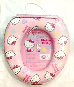 Amazon Com Hello Kitty Baby Pink Toilet Soft Seat Cover