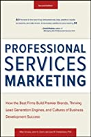 Professional Services Marketing, 2nd Edition Front Cover