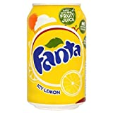 Fanta Icy Lemon 330ml (Pack of 24)