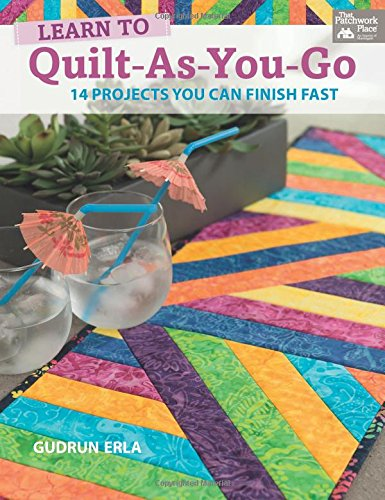 Learn to Quilt-as-you-go: 14 Projects You Can Finish Fast (Quilting Projects compare prices)