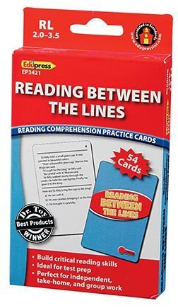 EDUPRESS Reading Between the Lines Reading Comp Red Level