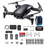 DJI Mavic Air, Fly More Combo, Onyx Black, 32G SD Card, and more (Color: Black)