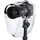 Neewer Rain Cover Coat Dust Proof Camera Protector Rainwear Rainproof for Canon Nikon Sony Samsung and Other DSLR Camera /such as Canon EOS 300D 350D 400D 450D 1000D 500D 550D 600D 650D 700D 1100D Rebel XT Xti Xsi XS T1i T2i T3i T4i T5i T3 70D 60D 7D 6D 5D Mark III, Nikon D7100 D7000 D5200 D5100 D5000 D3200 D3100 D3000 D90 D80