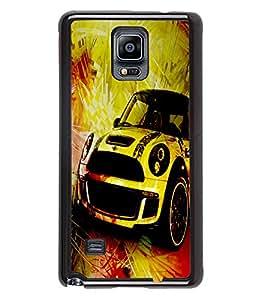 Printvisa 2D Printed Car Designer back case cover for Samsung GalaxySamsung Galaxy Note4 N/910F/N910H - D4480