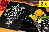 Zeller-lot-de-pique-nique-schneideplatte-massif-env-52-cm-x-60-cm-x-08-cm-2-pices-noir-de-protection-pour-cuisinire-en-verre-pour-plaques--induction-anti-claboussures-pour-four-lectrique-avec-protge-p
