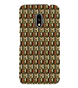 Abstract Painting 3D Hard Polycarbonate Designer Back Case Cover for Motorola Moto G4 :: Motorola Moto G (4th Gen)