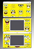 Spongebob Squarepants Face Vinyl Decal Cover Skin Protector 10 for Nintendo DS Lite