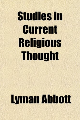Studies in Current Religious Thought