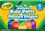 Crayola 6 59ml Paint Jars