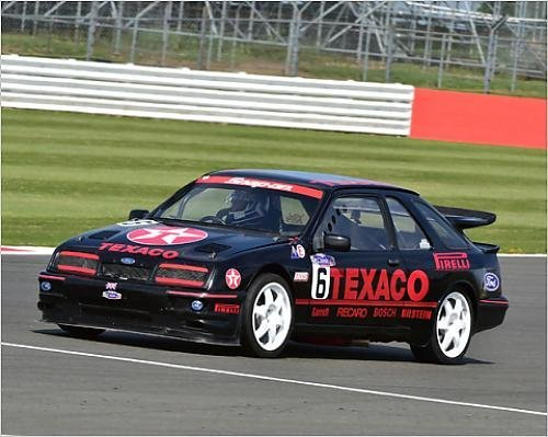 Photographic Print of CM9 6005 Paul Lawrence, Ford Sierra Cosworth