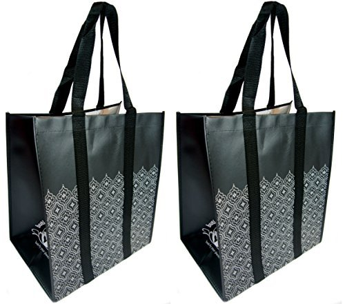 reusable-grocery-shopping-bags-premium-heavy-duty-wipe-clean-totes-2-black-lace-by-the-buti-bag-comp